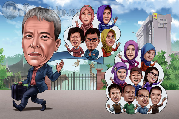 Jasa Karikatur  di Jakarta