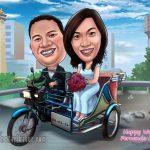 Jasa Karikatur Murah di Medan