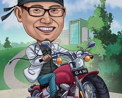 Jasa Karikatur Bekasi, Bisa Customize Harga Terjangkau